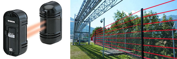 infracrvene barijere alarmnog sistema