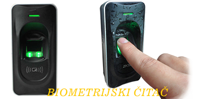 kontrola pristupa biometrijski čitač