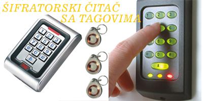 kontrola pristupa šifrator čitač s tagom